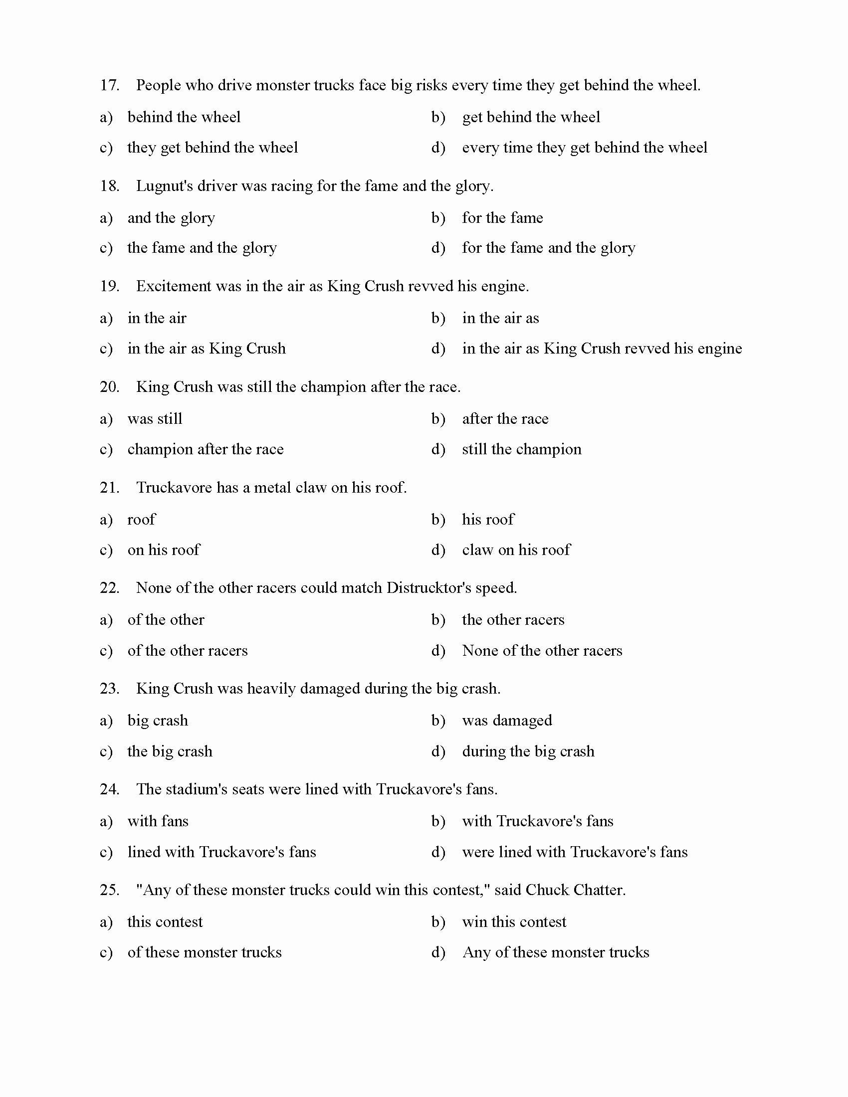 Prepositional Phrases Worksheet 6th Grade Ideas Prepositional Phrases Worksheet 1 Reading Level 2