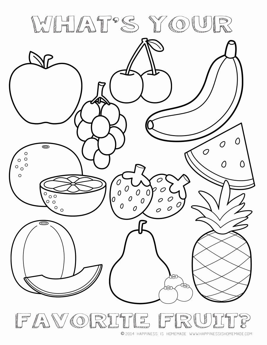 Preschool Fruits and Vegetables Worksheets New Printableng Fruits and Ve Ables Worksheets for Middle