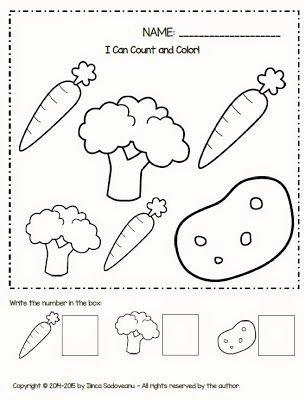 Preschool Fruits and Vegetables Worksheets Printable Fruit and Ve Ables Worksheets Freebie