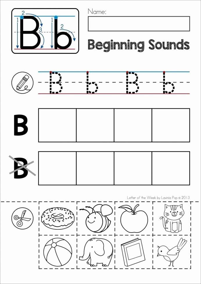 Printable Cut and Paste Worksheets New Preschool Preschoolers Free Pre Cut Paste Activities Letter