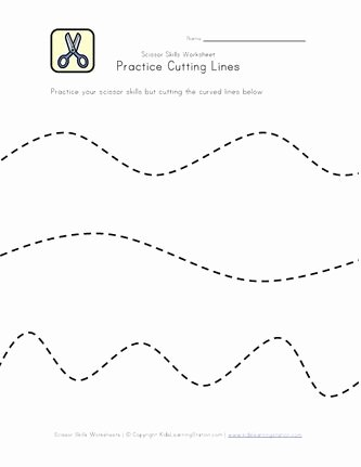 Printable Cutting Worksheets for Preschoolers New Pin On Cutting Practice