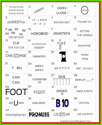 Printable Rebus Puzzles for Kids Best Of Free Printable Christmas Rebus Puzzles