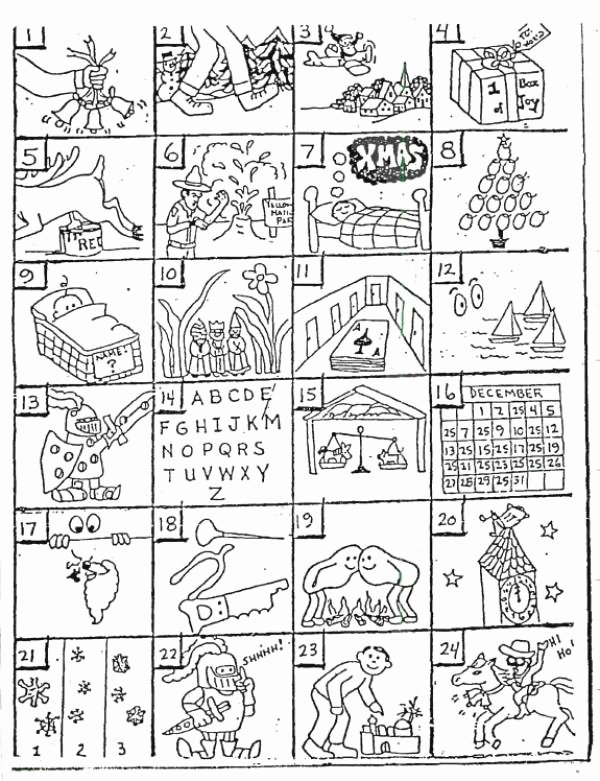 Printable Rebus Puzzles for Kids New Christmas Rebus Puzzles with Answers