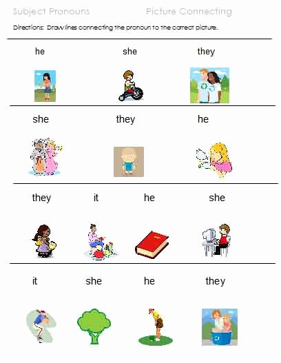 Pronoun Worksheets for Kindergarten Free Best Of Learn German Possessive Pronouns