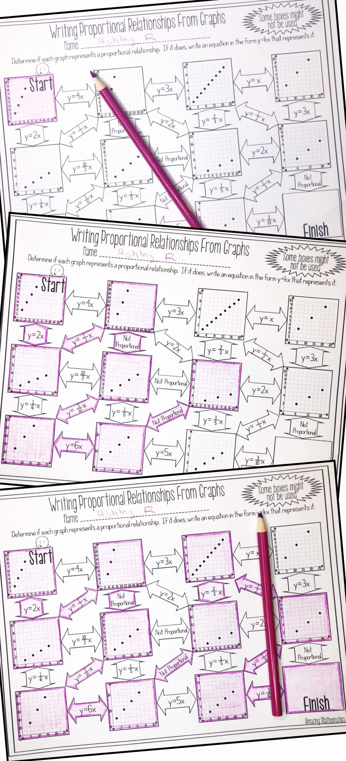 Proportional and Nonproportional Relationships Worksheet Free Non Proportional Relationship Graph Worksheet