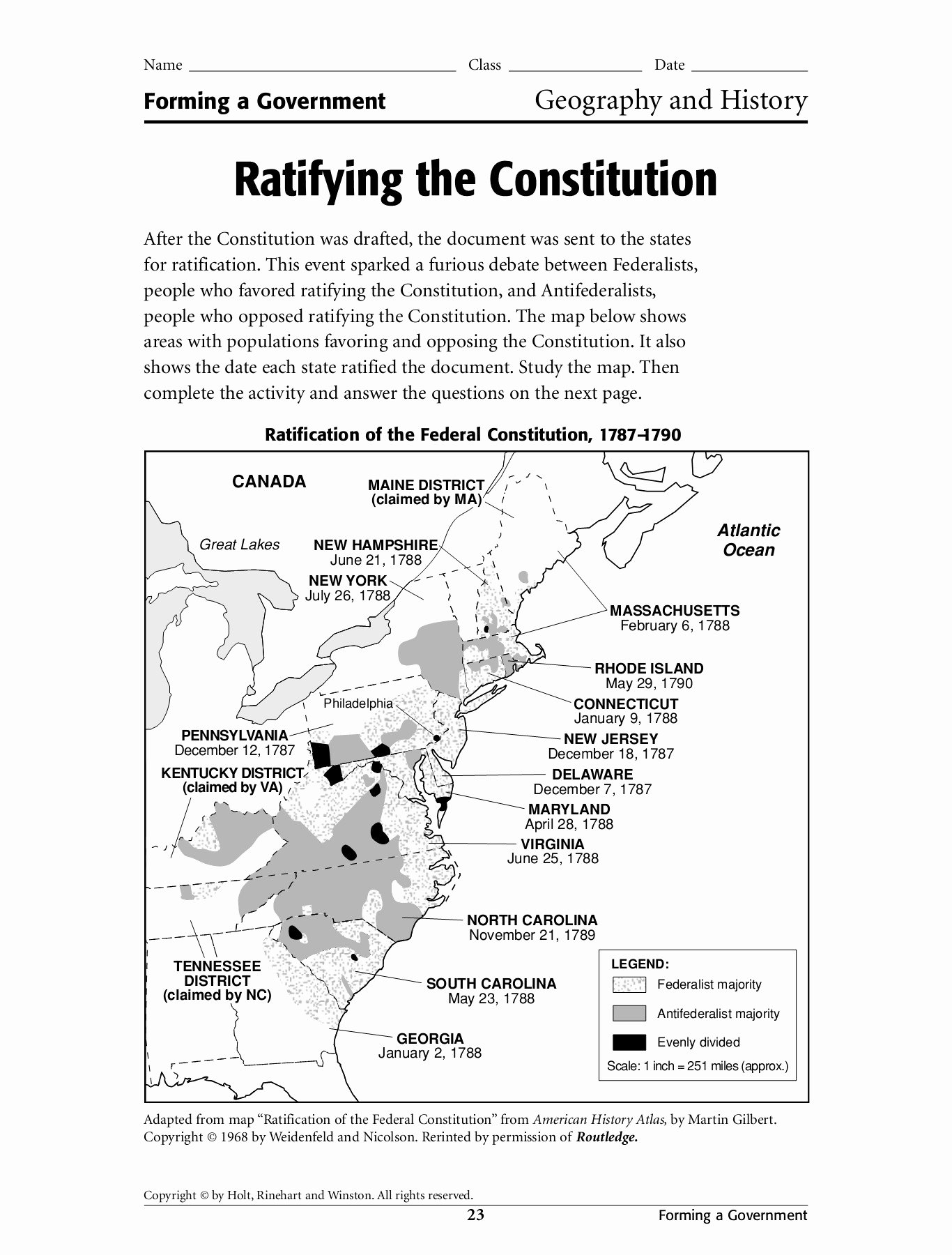 Ratifying the Constitution Worksheet Answers Best Of Ratifying the Constitution Neomin Pages 1 4 Flip