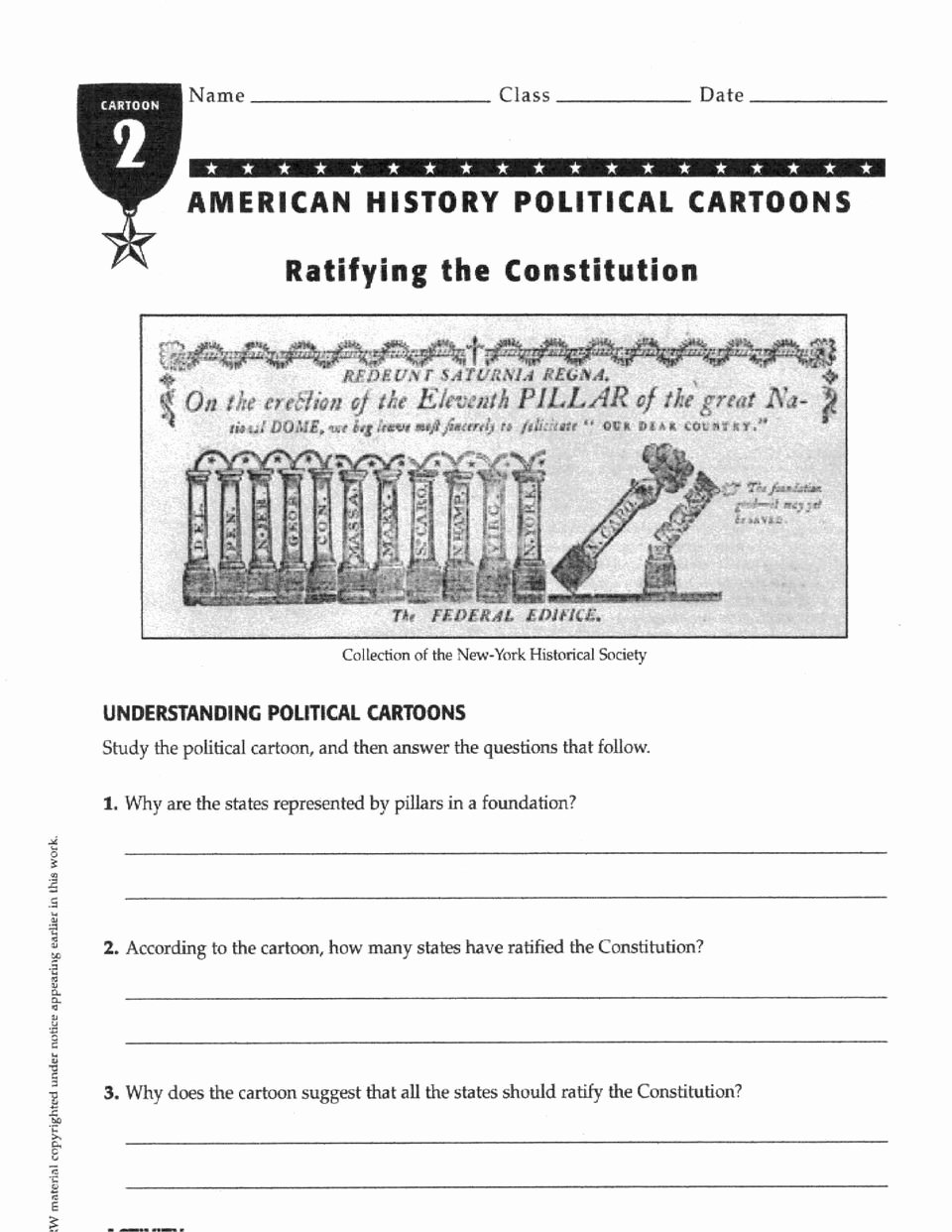Ratifying the Constitution Worksheet Answers Kids to Ratify or Not to Ratify Federalists V Anti Federalists