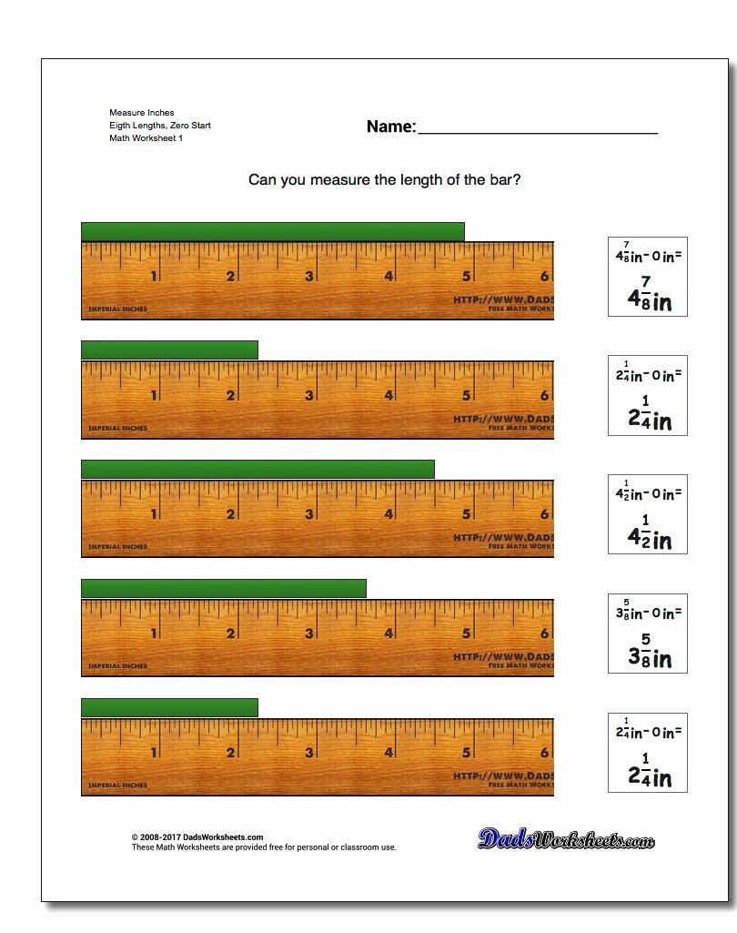 Reading A Tape Measure Worksheet New Reading A Tape Measure Worksheets – Worksheet for Kids