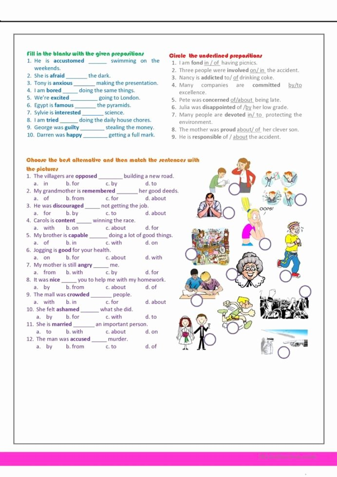 Reading Comprehension 7th Grade Worksheet Fresh Revision for the 7th Grade English Esl Worksheets Distance