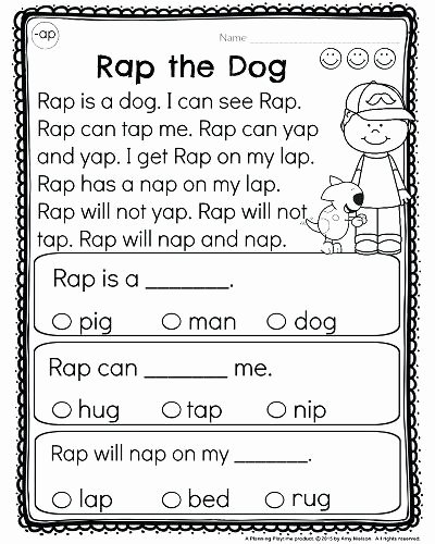 Reading Comprehension Kindergarten Worksheets Free Free Worksheet Reading Prehension Kindergartenheets Free for