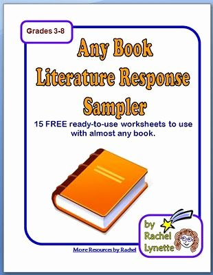 Reading Response Worksheets Middle School Inspirational Classroom Freebies 15 Reading Response Printables for Any