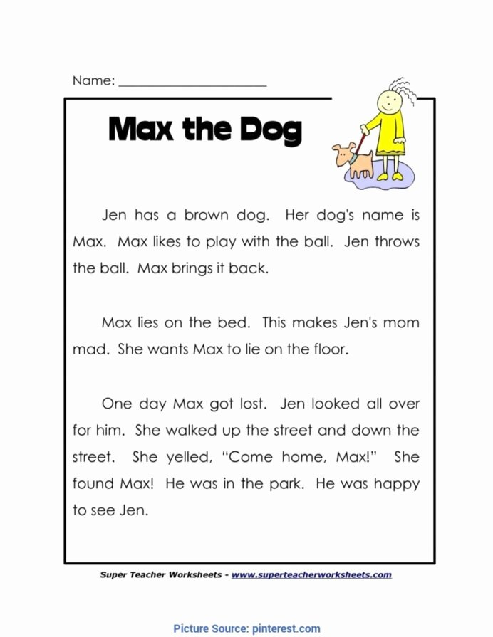 Reading Worksheets for 1st Grade New Worksheet Independent Reading Worksheets Printable and Free