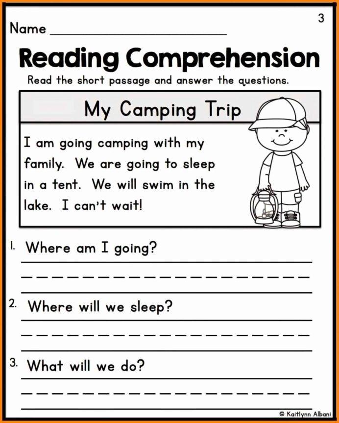 Reading Worksheets for 1st Grade Printable Find the Missing Variable Worksheet First Grade Reading