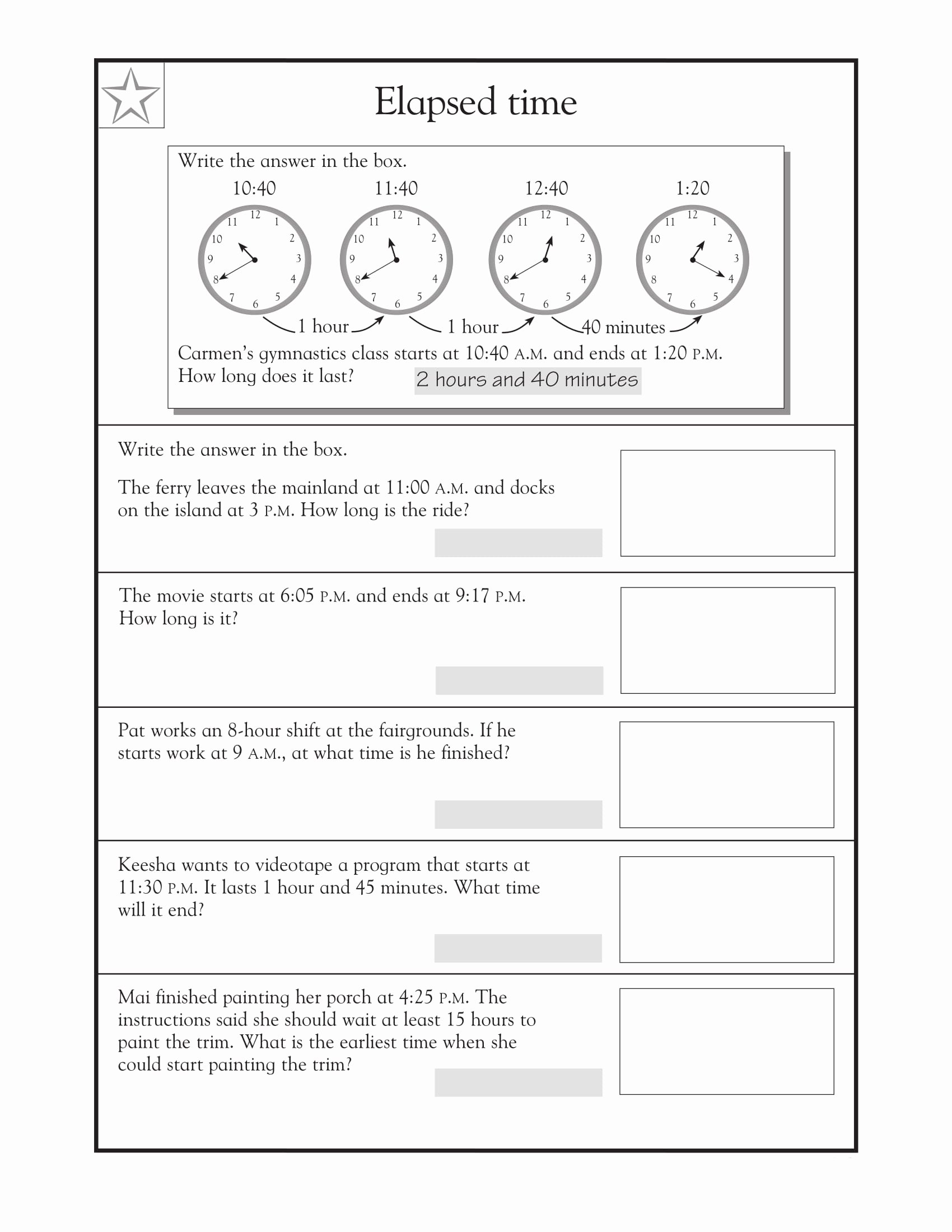 Real World Math Problems Worksheets Printable 4th Grade Math Word Problems Best Coloring Pages for Kids