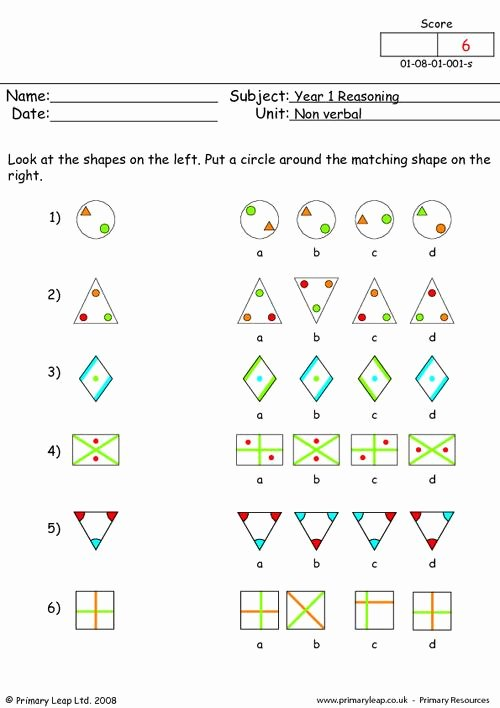 Reasoning Worksheets for Grade 1 Free Year 1 Reasoning Printable Resources & Free Worksheets for