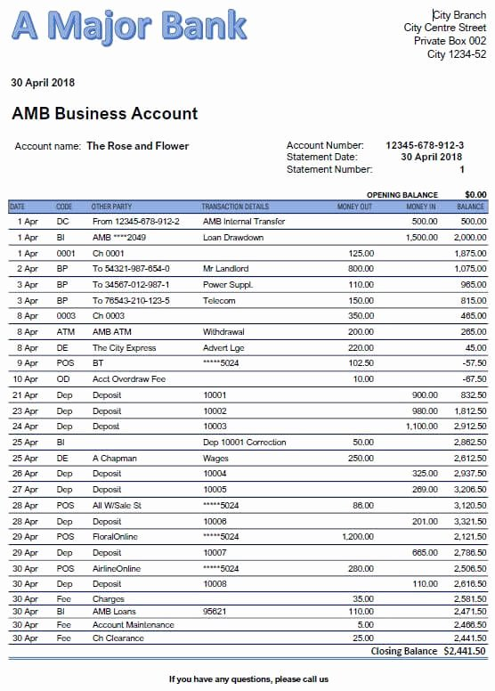 Reconciling A Bank Statement Worksheet Kids Bank Reconciliation Exercises and Answers Free Downloads