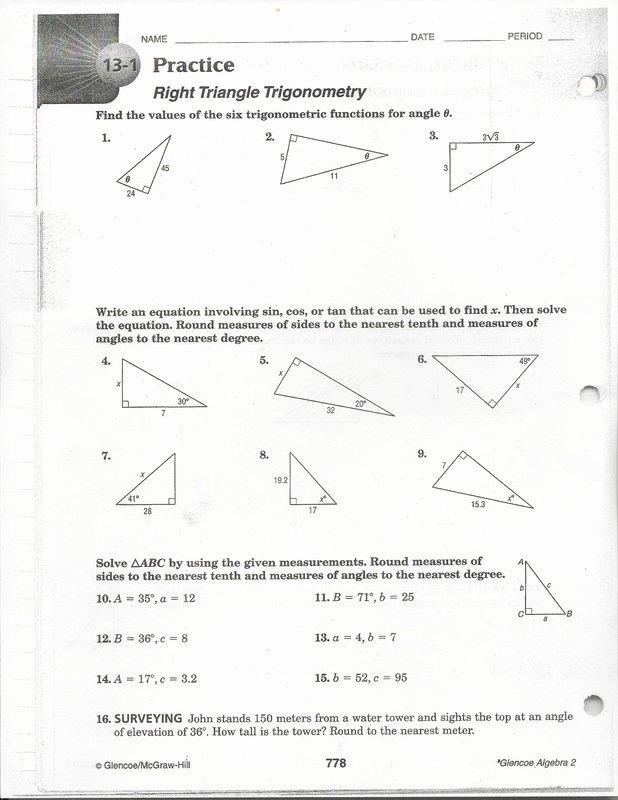 Right Triangle Trig Worksheet Answers top Blog Posts Brockton High School Mrs Karahalis