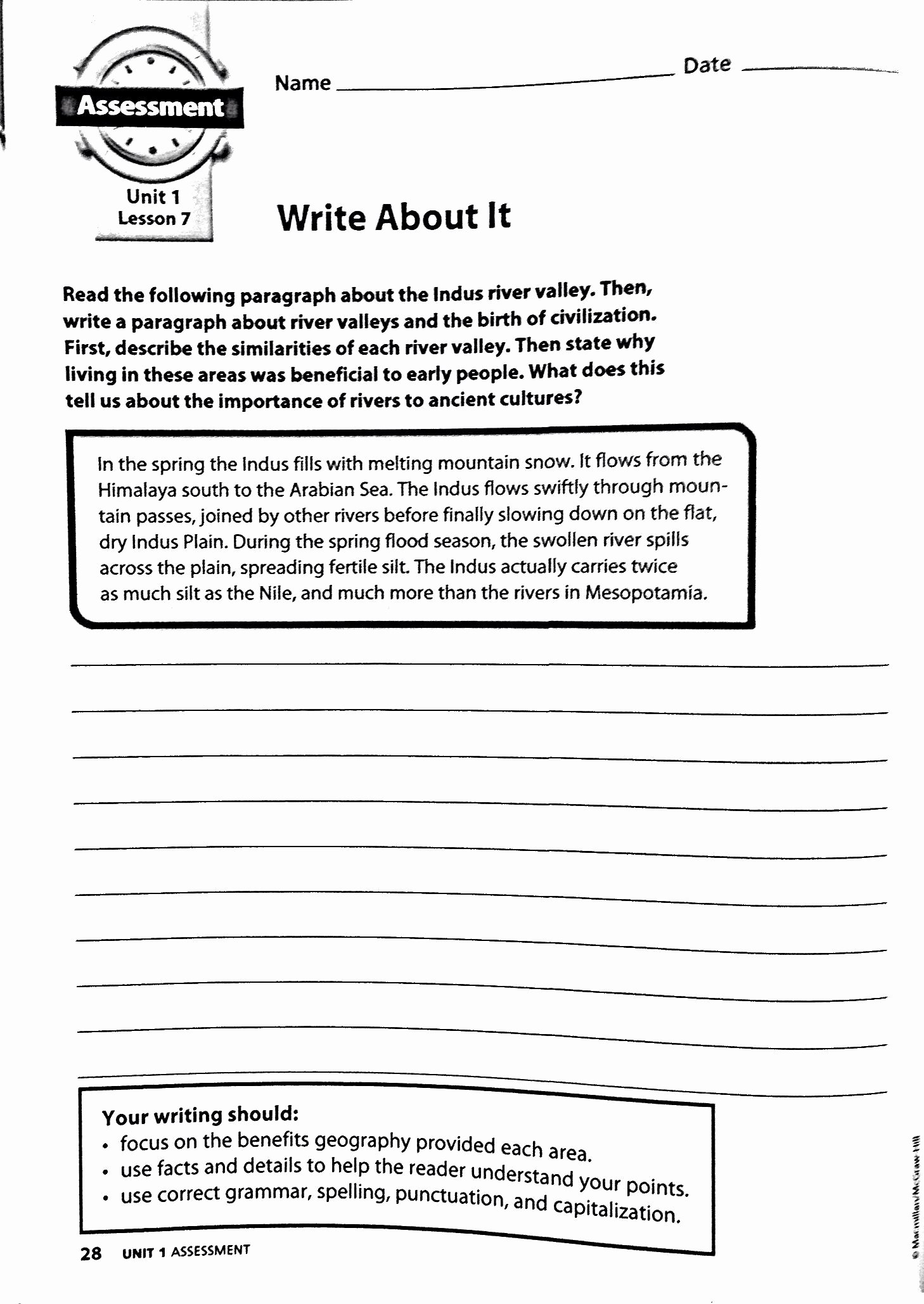 River Valley Civilizations Worksheet Answers top Ancient River Valley Civilizations Worksheet