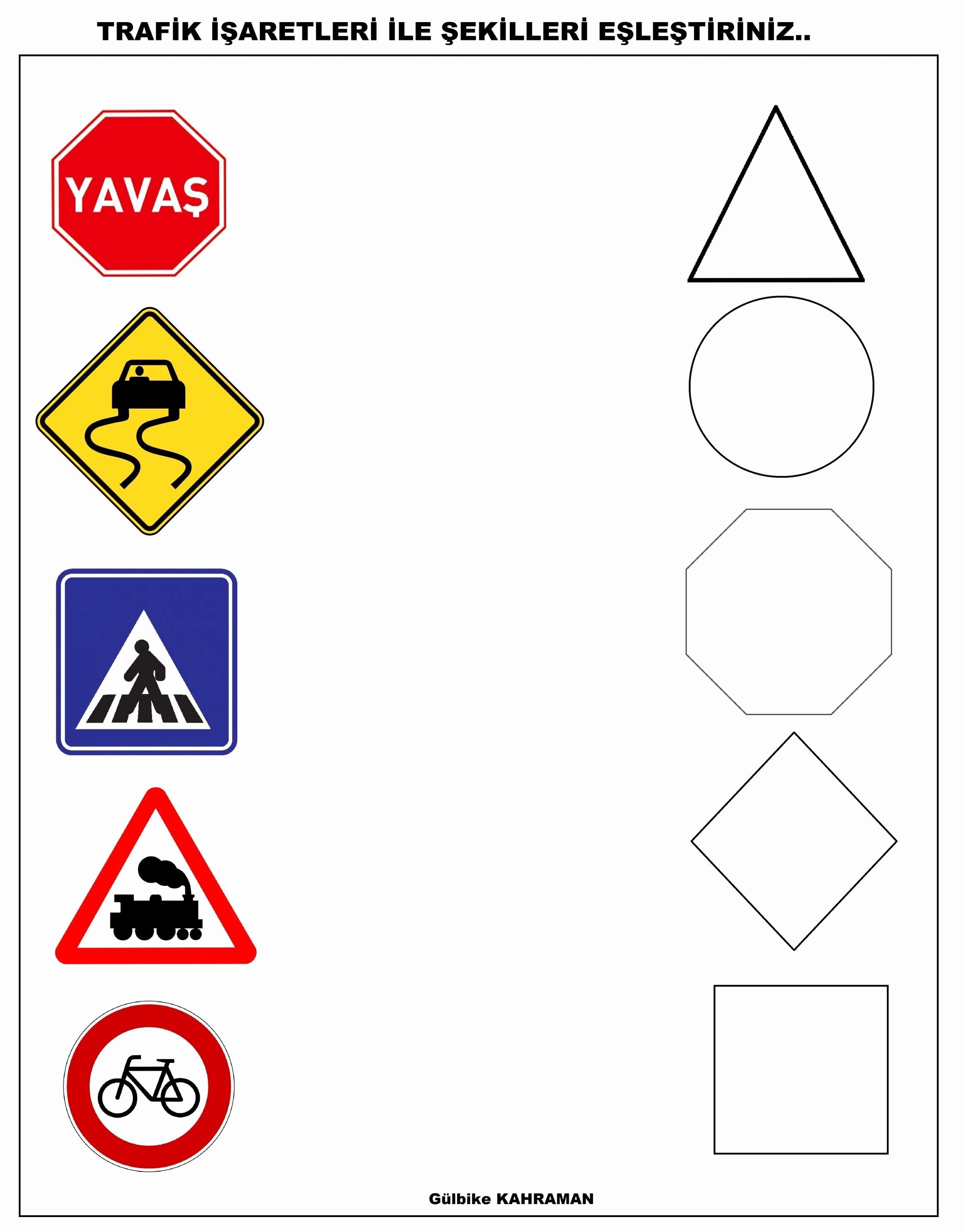 Safety Signs Worksheets for Kindergarten Inspirational Safety Signs Worksheets for Kindergarten Pedestrian Safety